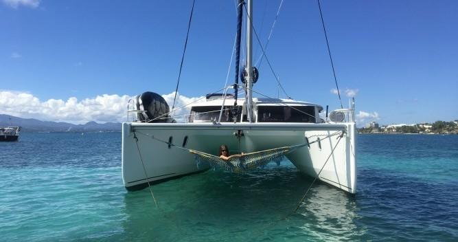 Location bateau Fountaine Pajot Orana 44 à Le Marin sur Samboat