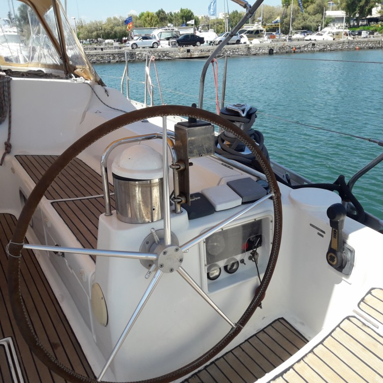 Jeanneau Sun Odyssey 52.2 between personal and professional Athens