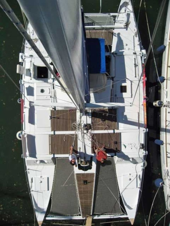 Hire Catamaran with or without skipper Wharram Port-Louis