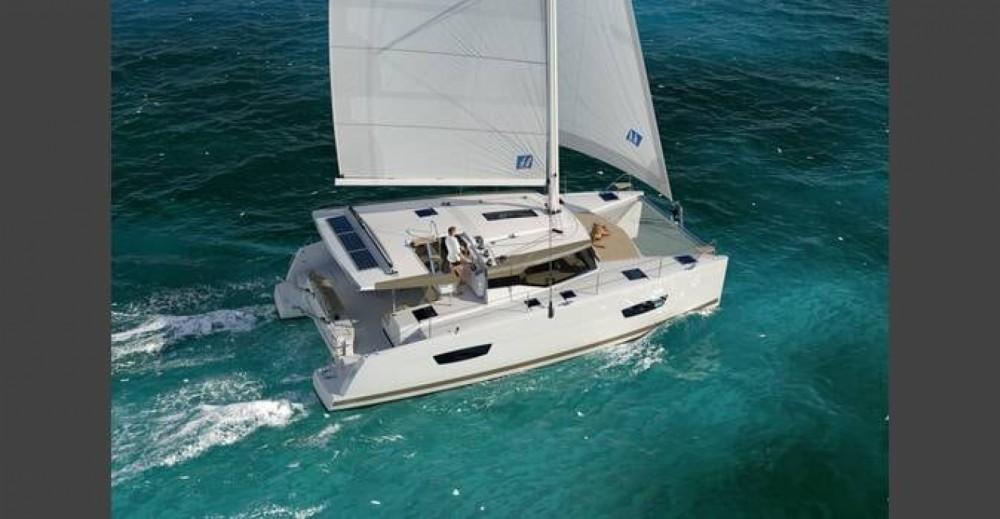 Rental Catamaran in Pointe-à-Pitre - Fountaine Pajot Fountaine Pajot