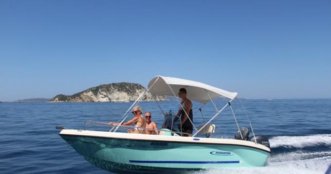 Location Bateau à moteur à Zakynthos (Île) - Poseidon Azzura 500
