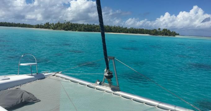 Louer Catamaran avec ou sans skipper Nautitech à Uturoa