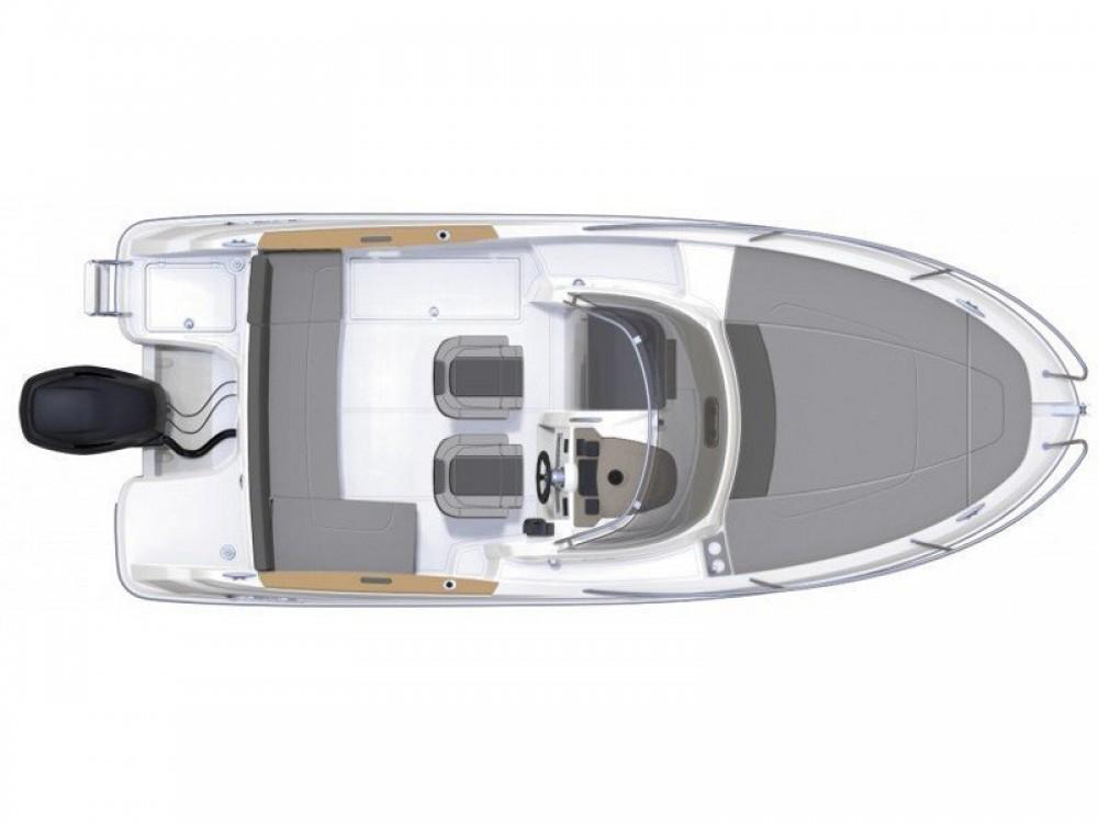 Location bateau Jeanneau Cap Camarat 6.5 WA Serie 2 à Anse d'Arlet sur Samboat