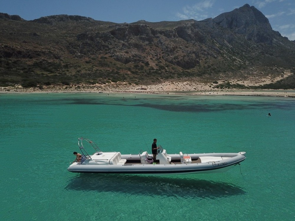 Hire RIB with or without skipper Cobra Chania