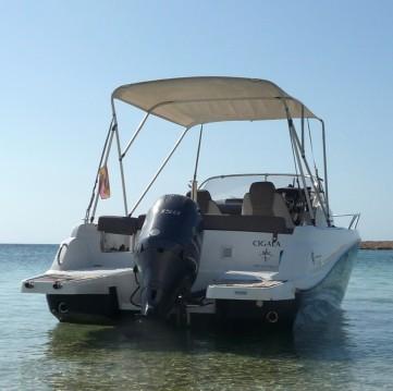 Jeanneau Cap Camarat 6.5 WA entre particuliers et professionnel à Île d'Ibiza