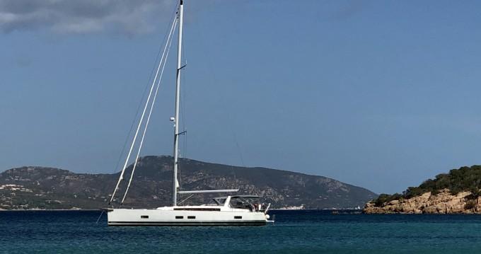 Location bateau Porto-Vecchio pas cher Oceanis 55