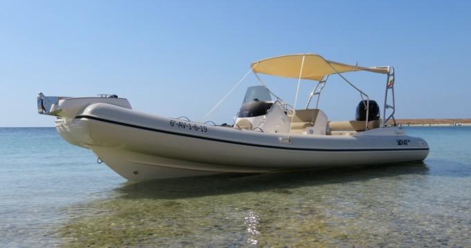 Louer Semi-rigide avec ou sans skipper Black Fin à Ibiza (Ville)