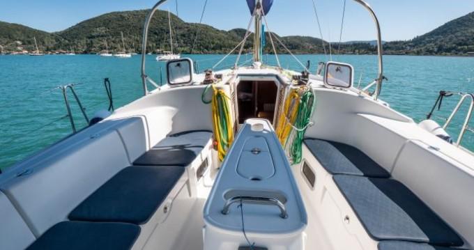 Location bateau Bénéteau Cyclades 43.3 à Vlikhón sur Samboat