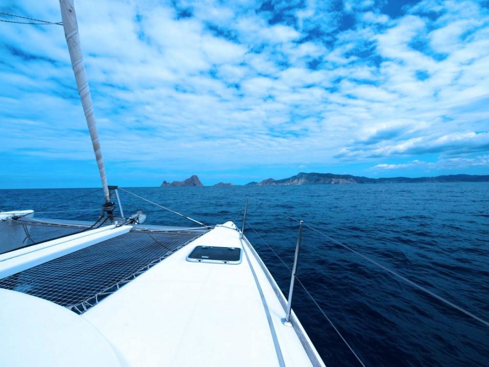 Location bateau Lagoon Lagoon 380 à Ibiza sur Samboat