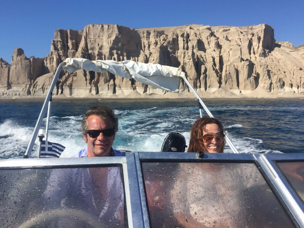 Louer Bateau à moteur avec ou sans skipper Ahellas à Égée