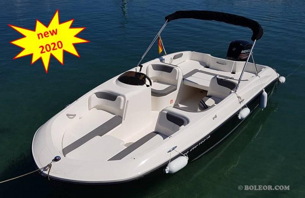Boat rental Boleor Q600 'Atlas' (8p/115hp) in Palma on Samboat