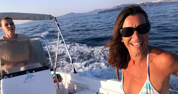 Volos Marine Jason 4460 entre particuliers et professionnel à Santorin