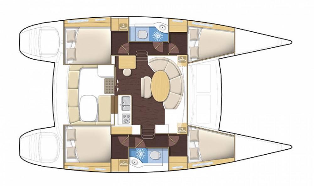 Location Catamaran à Ibiza - Lagoon Lagoon 380