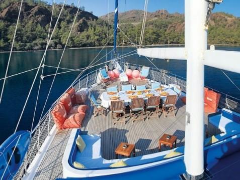 Louer Yacht avec ou sans skipper KECH à Marmaris