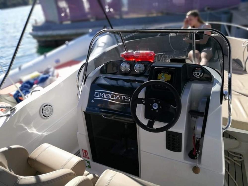 Location Bateau à moteur à Pula - Okiboats Barracuda 545 Open