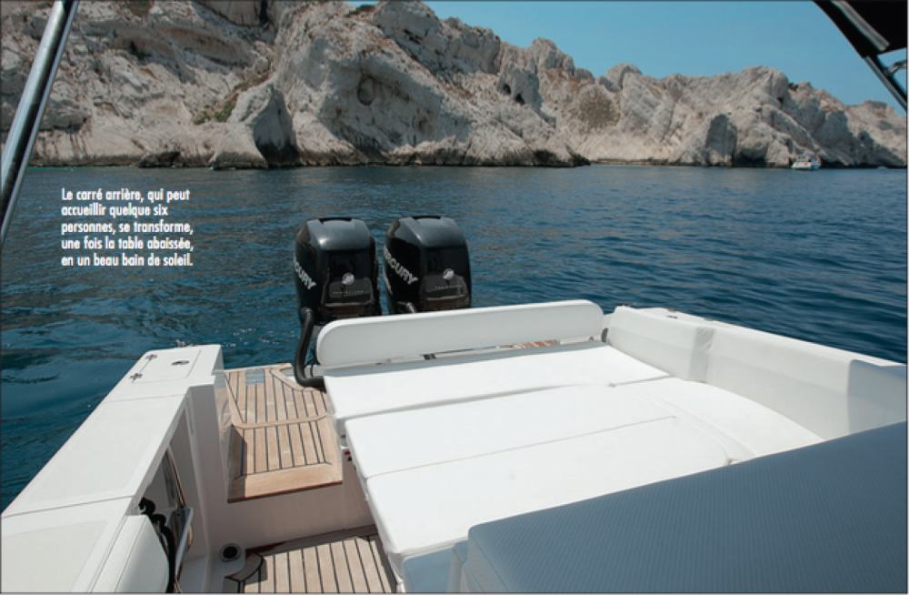 Location bateau AL DHAEN 360 CUDDY à Saint-Tropez sur Samboat