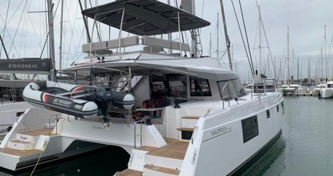 Location bateau Nautitech 46 FLY.2 à Le Grau-du-Roi sur Samboat