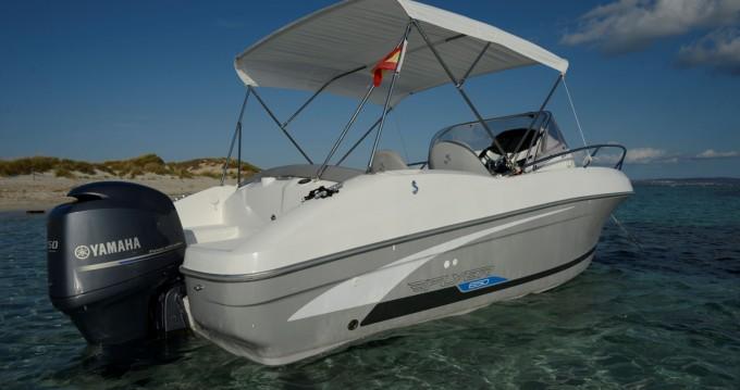 Louer Bateau à moteur avec ou sans skipper Bénéteau à Ibiza (Ville)
