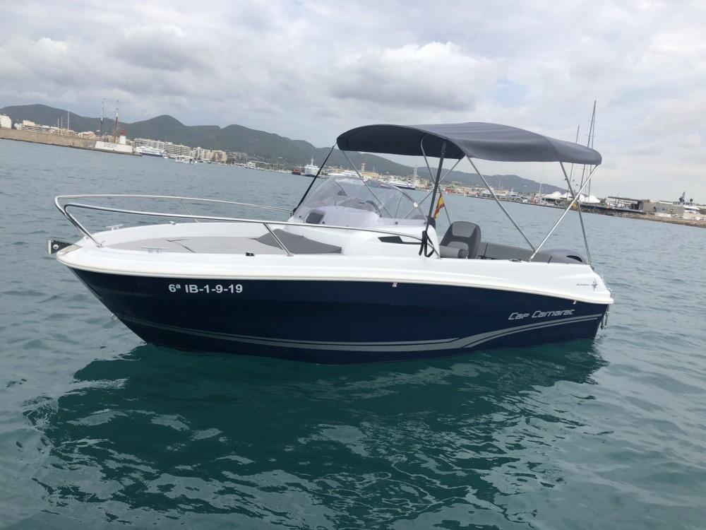 Location bateau Ibiza pas cher Cap Camarat 5.5 WA Serie 2