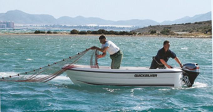 Location Bateau à moteur à Pointe-Rouge - Quicksilver Quicksilver 410 Fish