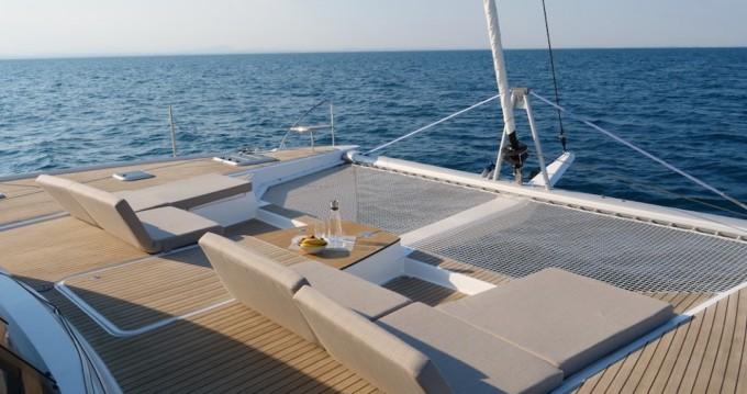Location bateau Fountaine Pajot Saba 50 à Ajaccio sur Samboat
