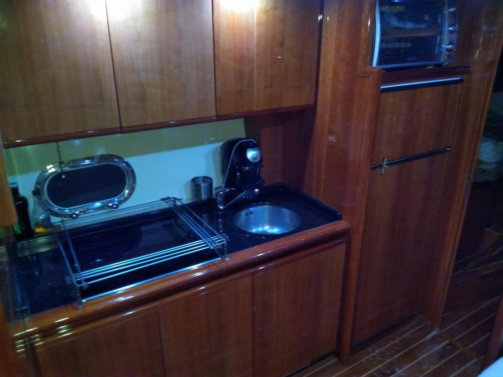 Location Yacht à Campanie - Gianetti 50' HT