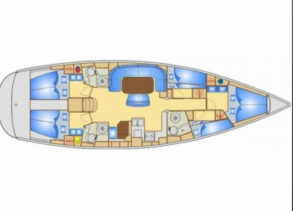 Bavaria Bavaria Cruiser 50 entre particuliers et professionnel à Herceg Novi