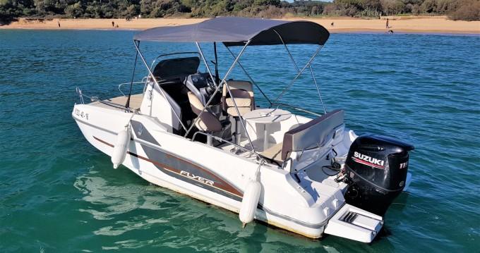 Location bateau Palamós pas cher Flyer 550 Sun Deck