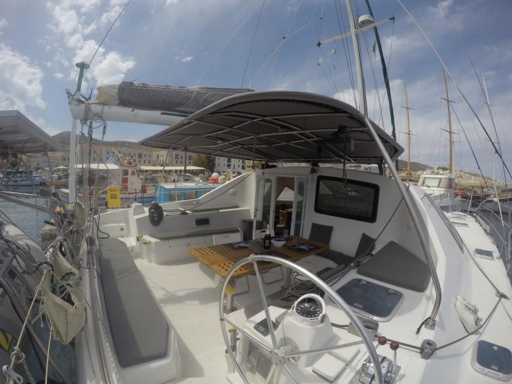 Location Catamaran Jouandoudet avec permis