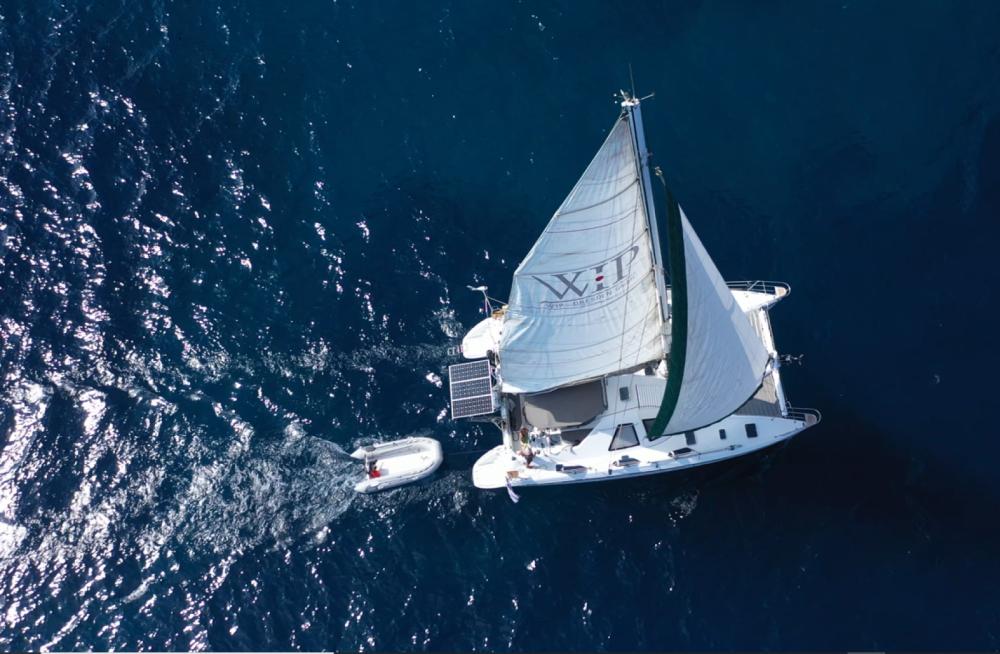 Louer Catamaran avec ou sans skipper Jouandoudet à Ermoupoli