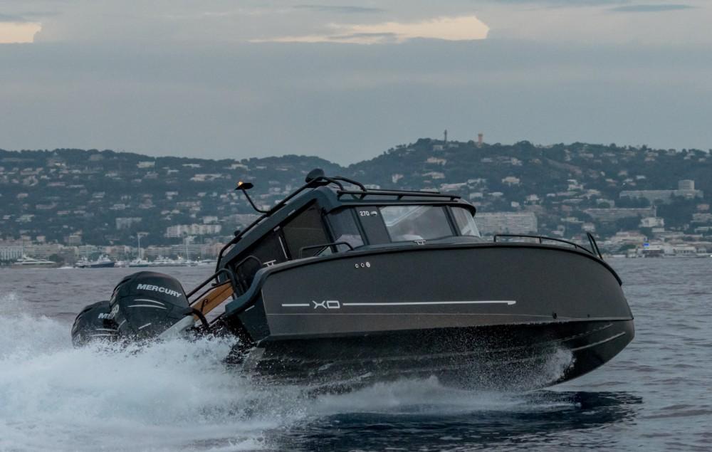 Location Bateau à moteur à Vannes - xo boats 270 rs