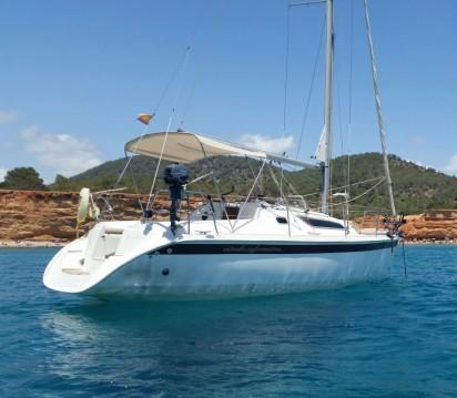 Location bateau Jeanneau Sun Odyssey 28.1 à Ibiza (Ville) sur Samboat