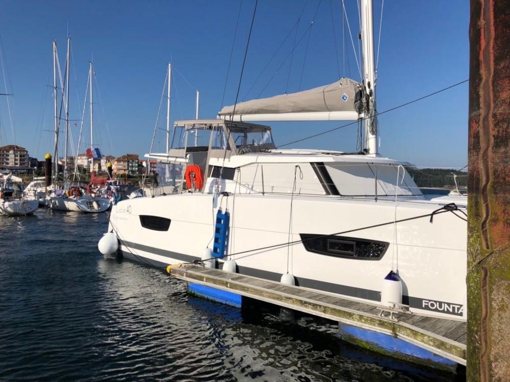 Location Catamaran à La Spezia - Fountaine Pajot Lucia 40