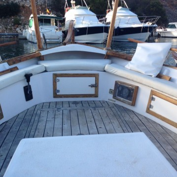 Louez un Llaud Capeador 36 à Ciutadella de Menorca