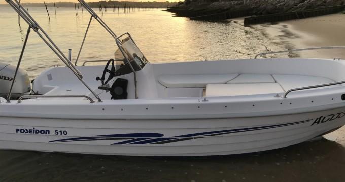 Louez un Poseidon 510 T à Lège-Cap-Ferret