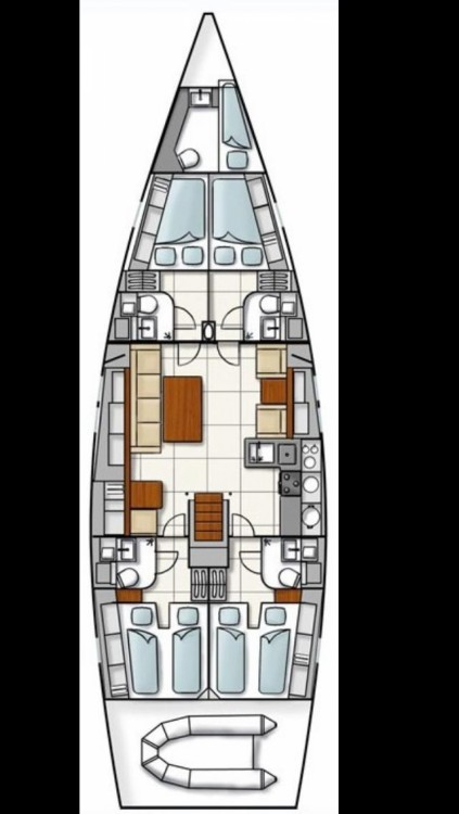 Louez un Hanse Hanse 540 à Marsala