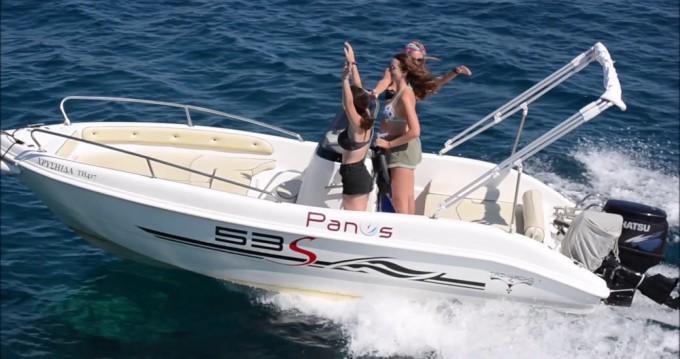Louer Bateau à moteur avec ou sans skipper Karnic à La Savina