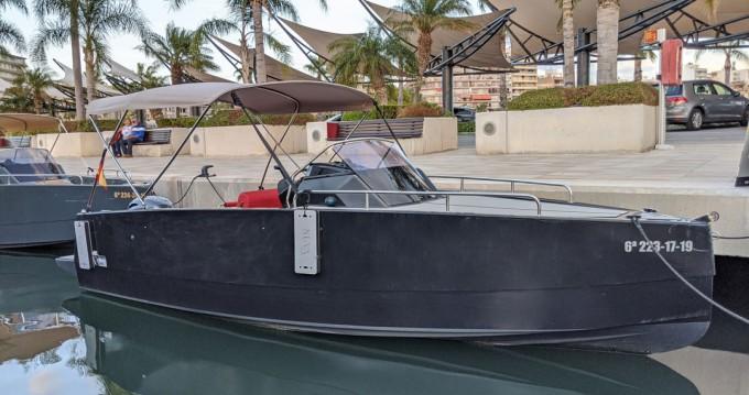 Location bateau Nuva Nuva M6 à Santa Pola sur Samboat