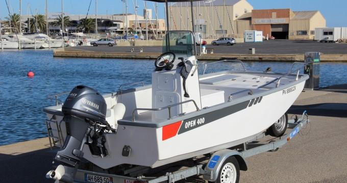 Location bateau Marseillan pas cher open 400