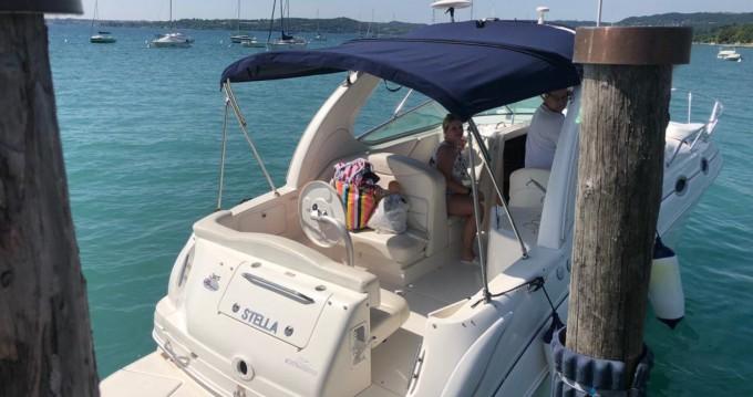 Location Bateau à moteur à Moniga del Garda - Sea Ray Sea Ray 315 Sundancer