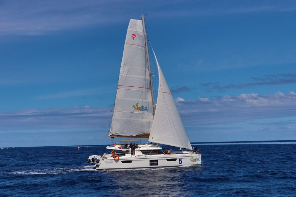 Location Catamaran à Victoria - Fountaine Pajot Saba 50