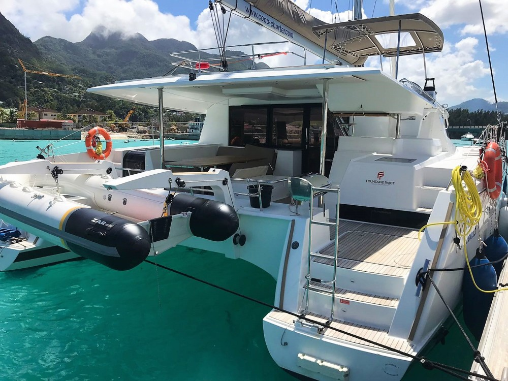Location Catamaran à Seychelles - Fountaine Pajot Saba 50