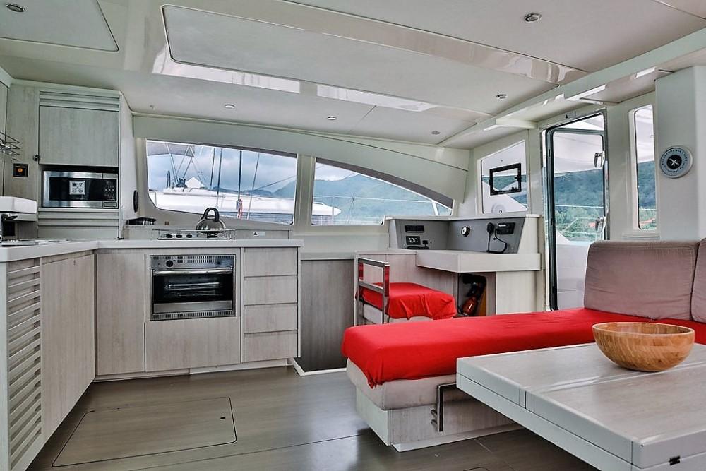 Location bateau Seychelles pas cher Leopard 48