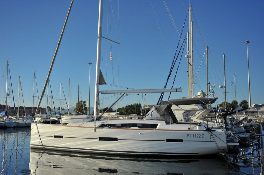 Location bateau Olbia pas cher Dufour 412
