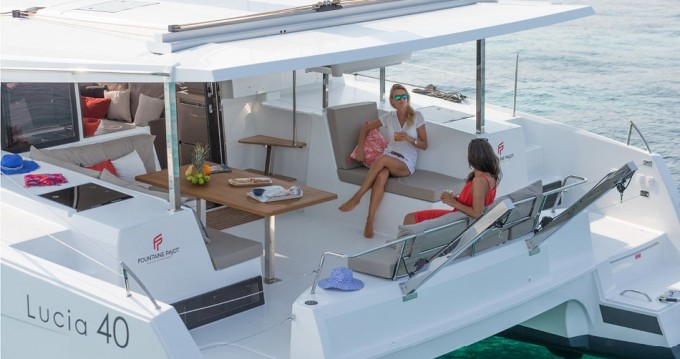 Location bateau Ajaccio pas cher Lucia 40