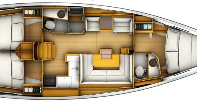 Location bateau Macinaggio pas cher Sun Odyssey 40.9