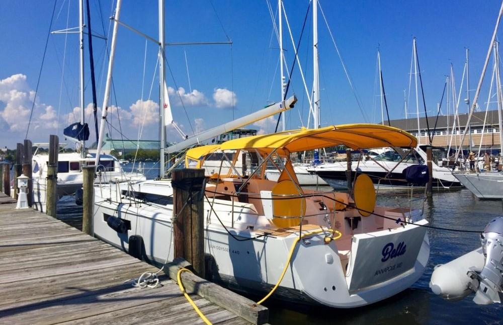 Jeanneau Sun Odyssey 44 Ds entre particuliers et professionnel à Road Town