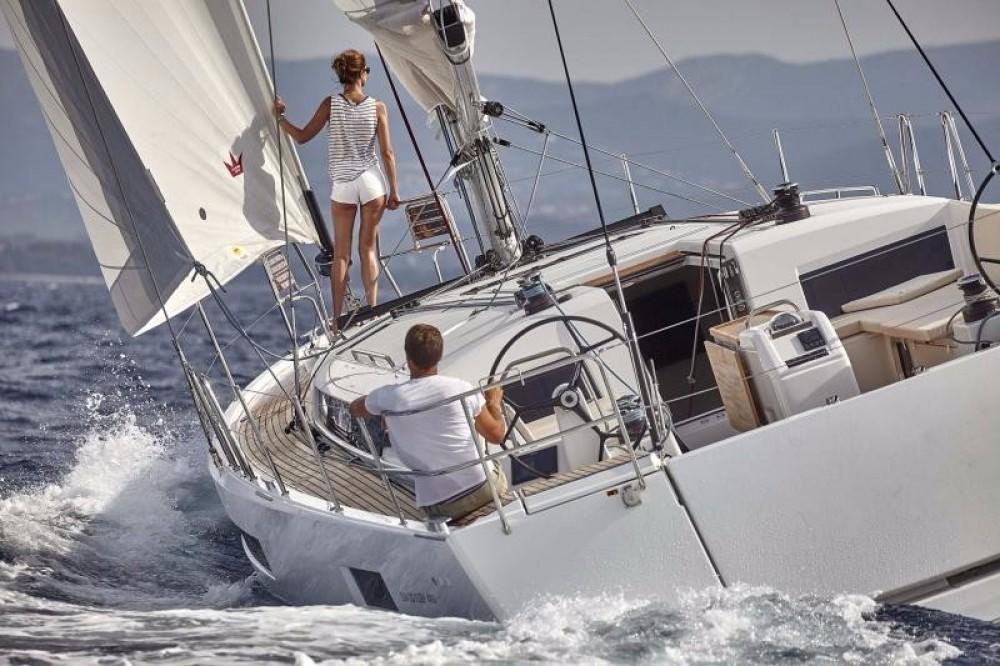 Jeanneau Sun Odyssey 490 entre particuliers et professionnel à Cos