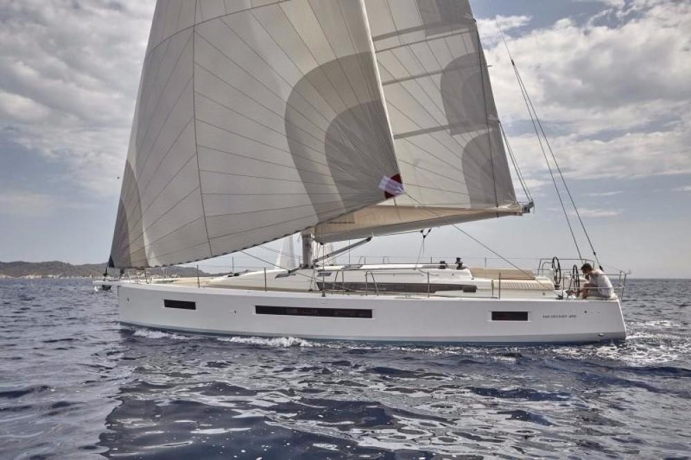 Jeanneau Sun Odyssey 490 entre particuliers et professionnel à Keramoti