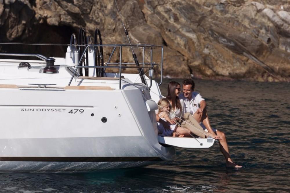 Louez un Jeanneau Sun Odyssey 479 à Péloponnèse, Grèce occidentale et Îles Ioniennes